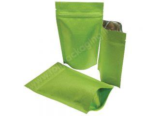 ถุงกระดาษลายลายเขียว
