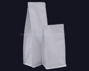 กระเป๋าสีขาวที่ไม่มีซิป