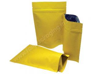 ถุงกระดาษลายลายเหลือง