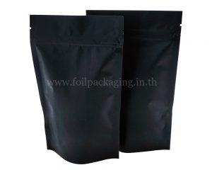 ถุงกระดาษสีดำ