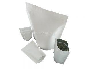 ถุงกระดาษสีขาว