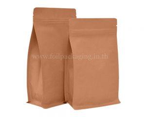 กระเป๋ากระดาษคราฟท์มีซิป