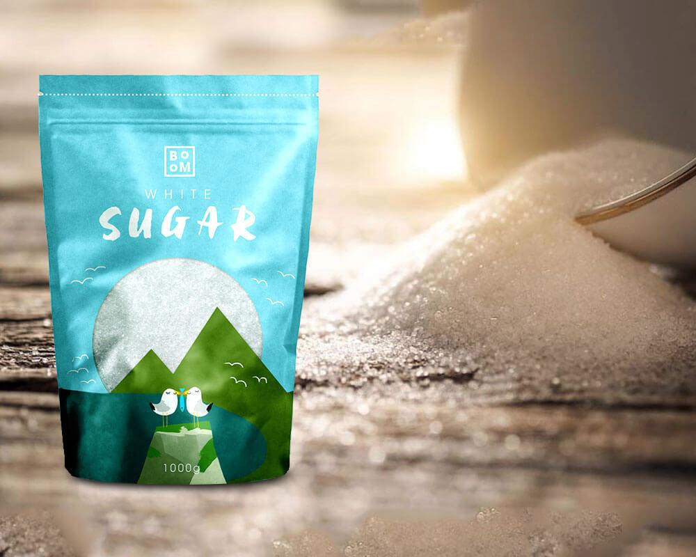 บรรจุภัณฑ์น้ำตาล